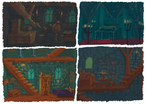 Project Innerva : Castle Rooms