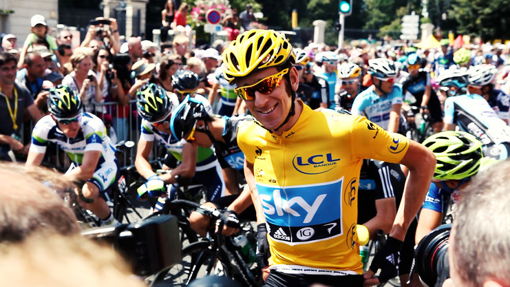 Bradley Wiggins 'A Year in Yellow'