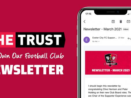 Trust Newsletter | March 2021