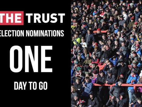 Trust Nominations | Deadline tomorrow!