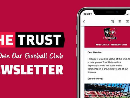 Trust Newsletter | February 2021