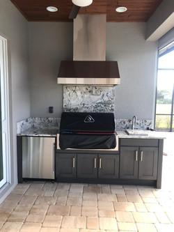 grey naturekast cabinets