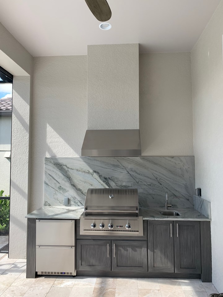 grey naturekast cabinets