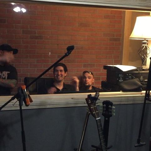 Devil Inside Recording debut album!