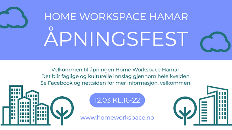 Launching of our new co-working space in Hamar! Join our opening party!