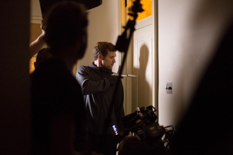 Actor Ed Skrein - documentary photographer Beth Steddon