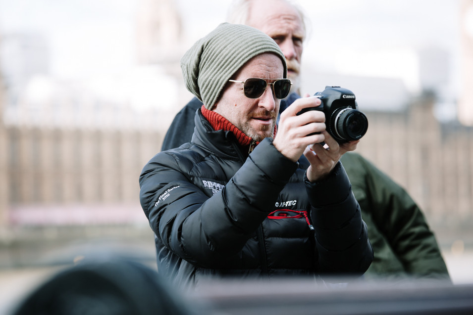 Director Anthony Byrne - documentary photography london