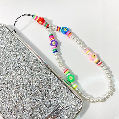 ¨FLOWERS¨ phone strap