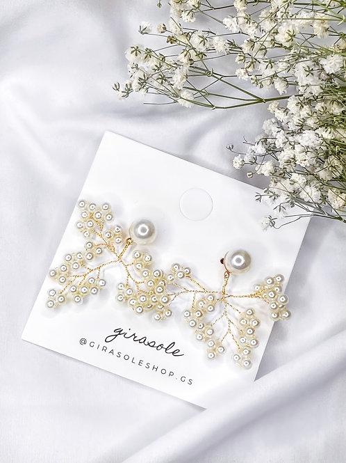 Pearl Tree Earrings