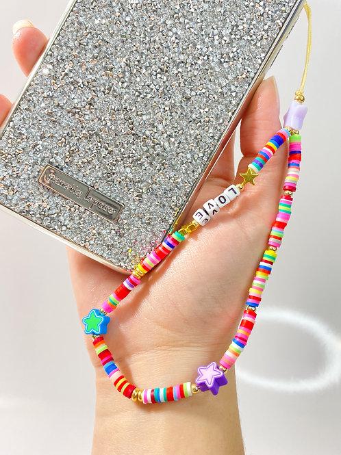 ¨STARS¨ phone strap