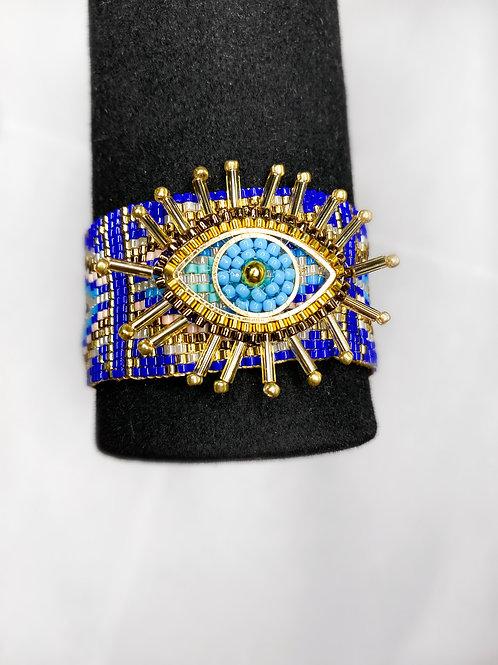 Glam Evil Eye Bracelet