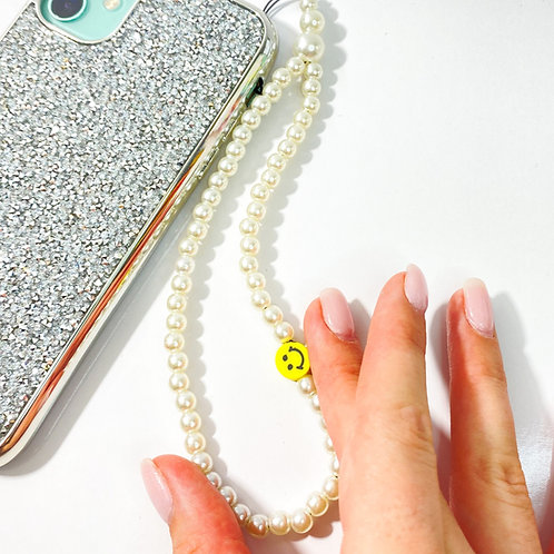 ¨HAPPY FACE¨ phone strap