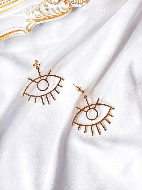 Little Evil Eye Earrings