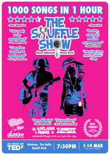 THE SHUFFLE SHOW Adelaide 2016 A3 Poster