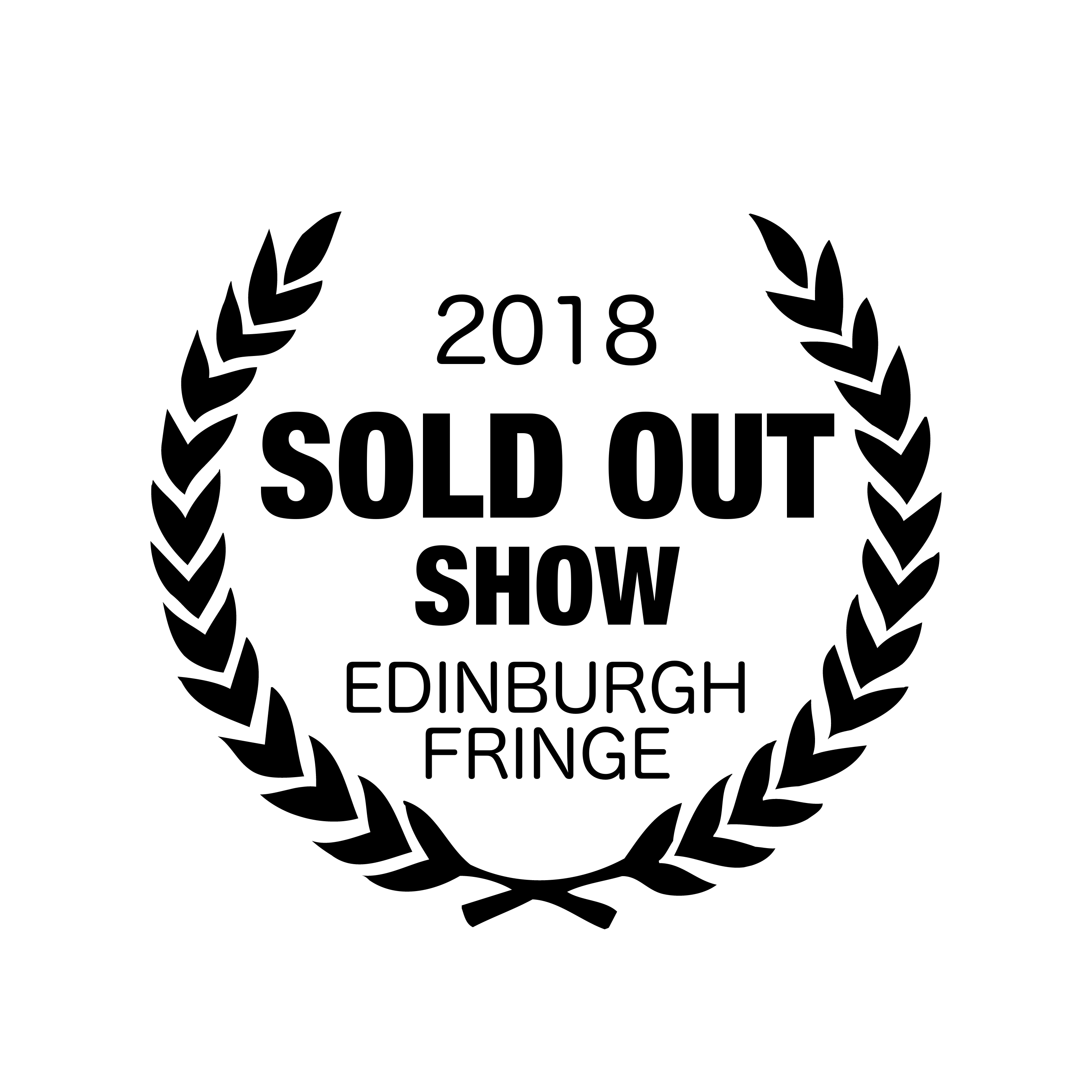 EDfringe Sold OUt Laurels