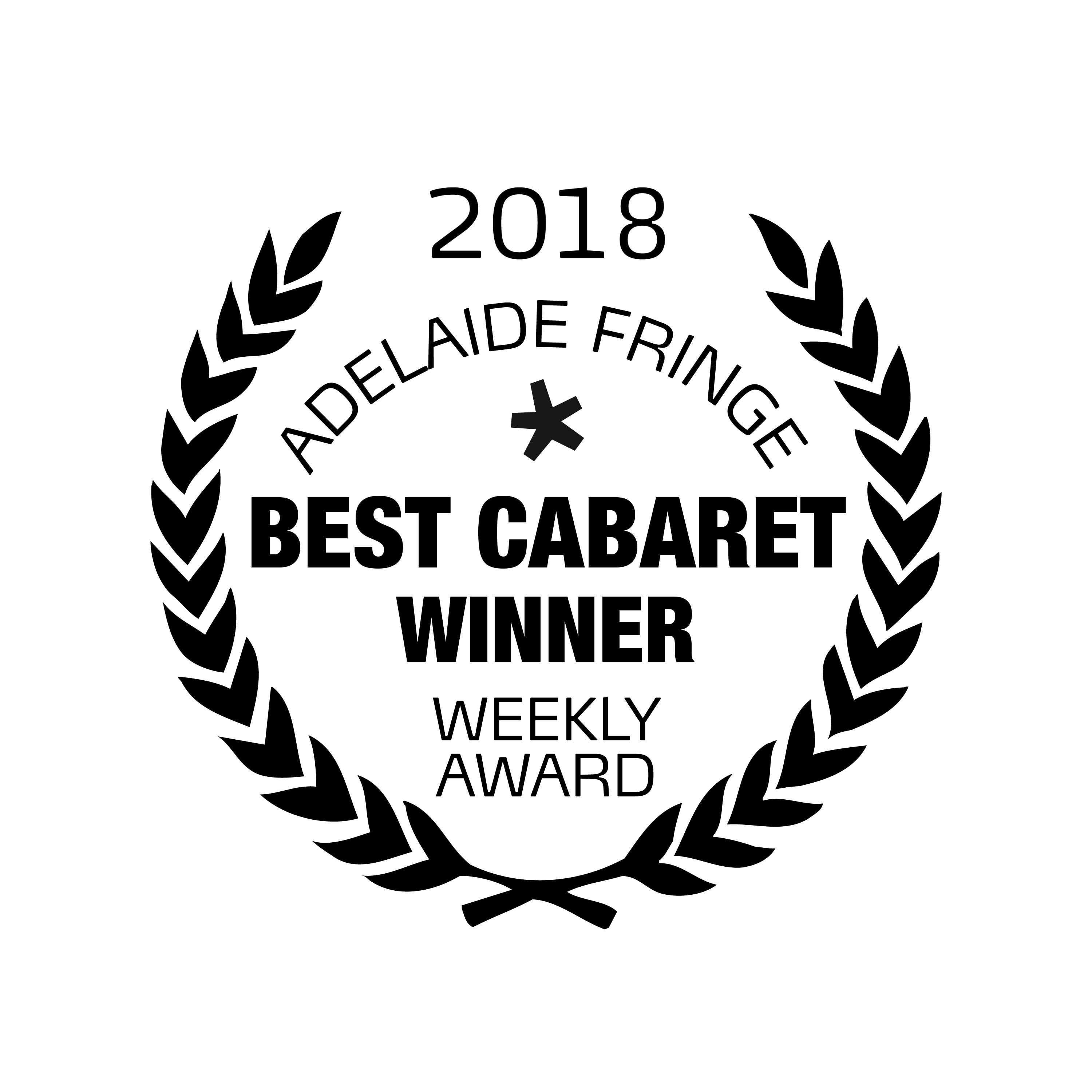 Adelaide Fringe Best Cabaret Laurels