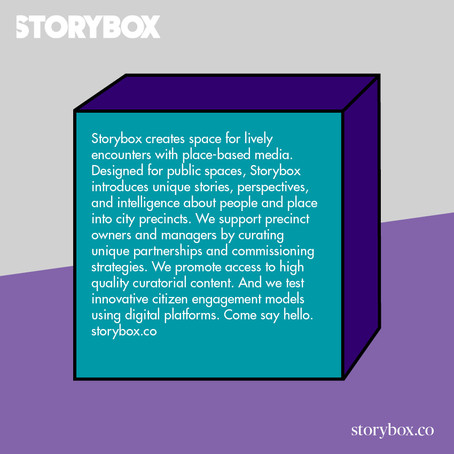What's the story behind STORYBOX?