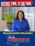 """Sandra """"Candy"""" Christophe for Congress"""