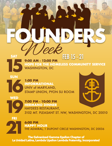 La Unidad Founder's Week
