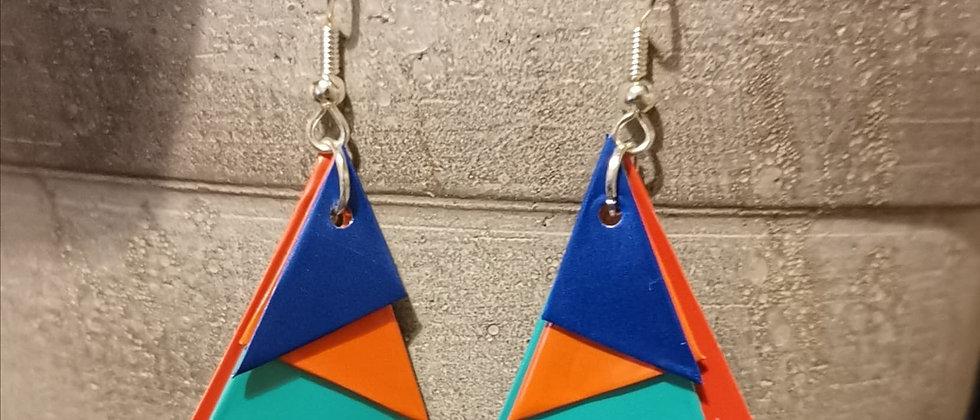 indian ocean recycled earrings