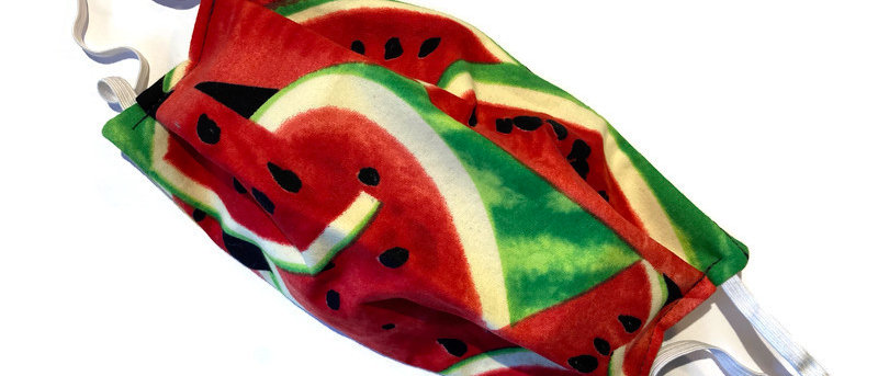 watermelon / bananas - large