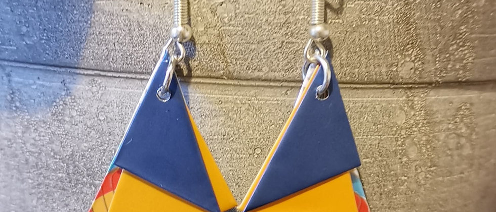 pass the duchy recycled earrings
