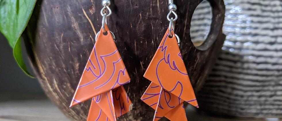 vector vector recycled earrings