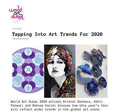 Interview Aditi Patwari World Art dubai