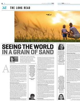 Aditi Patwari's (Dea) Featured in B Khaleej Times