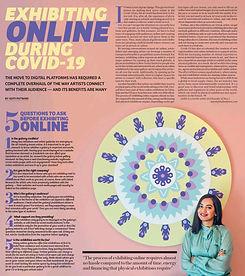 Aditi Patwari's article for Khaleej Time