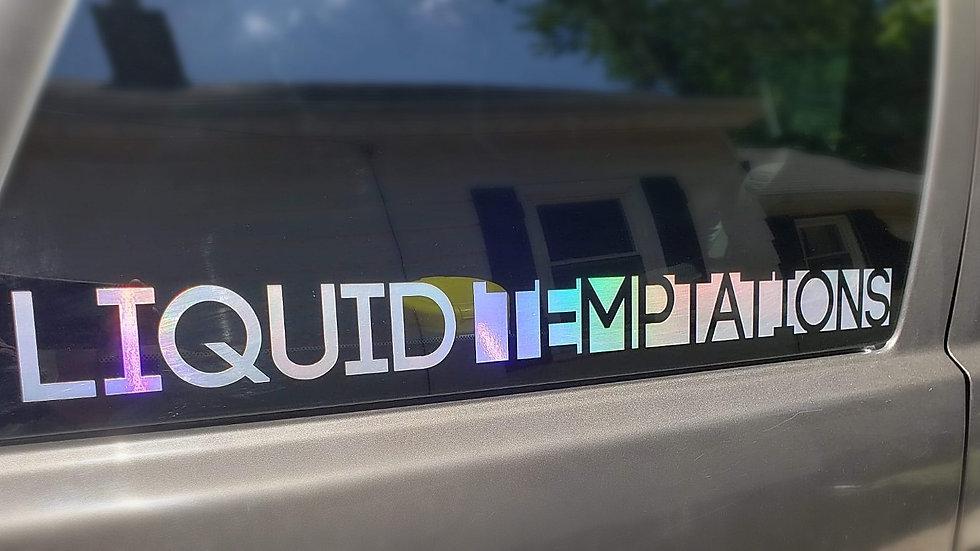 LT Car Sticker