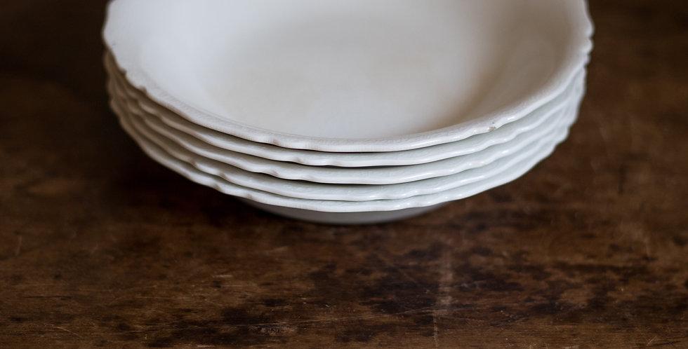 ironstone bowl set of 5