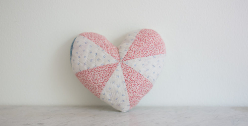 handmade quilted heart