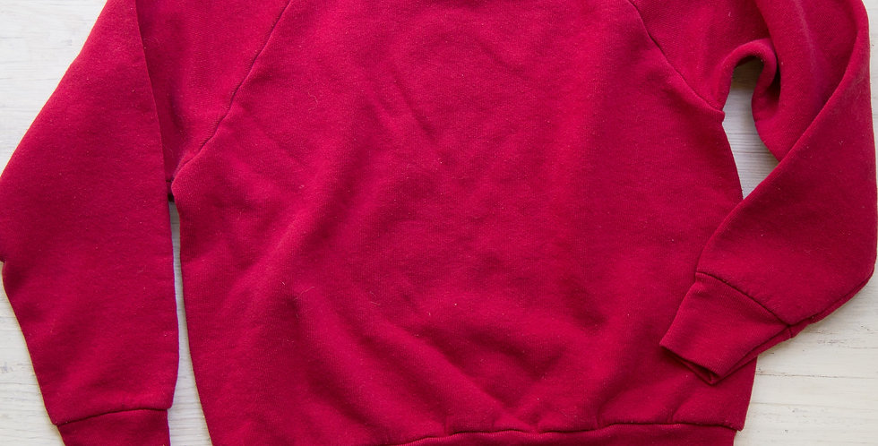 vintage red sweatshirt | Med youth (8/10)