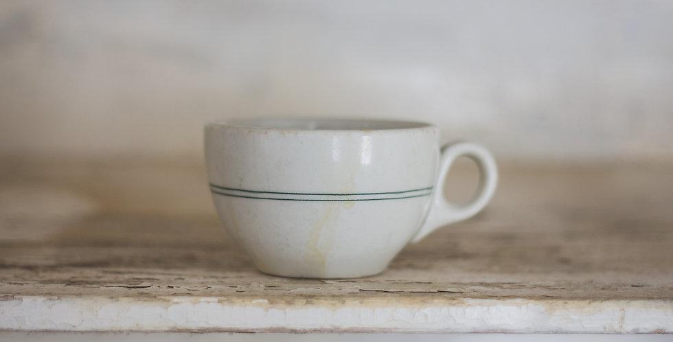 antique ironstone tea cup