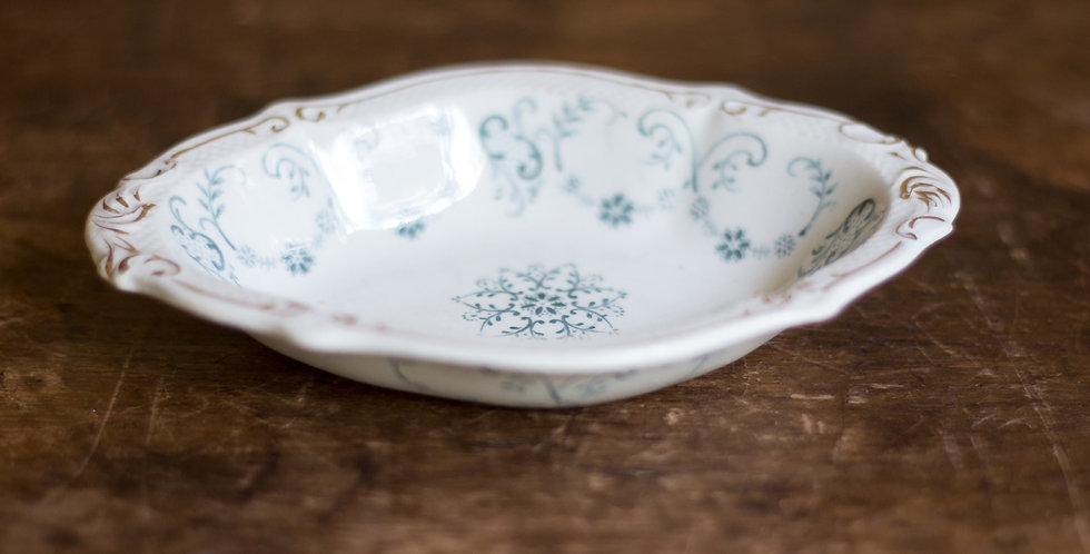 vintage ironstone bowl