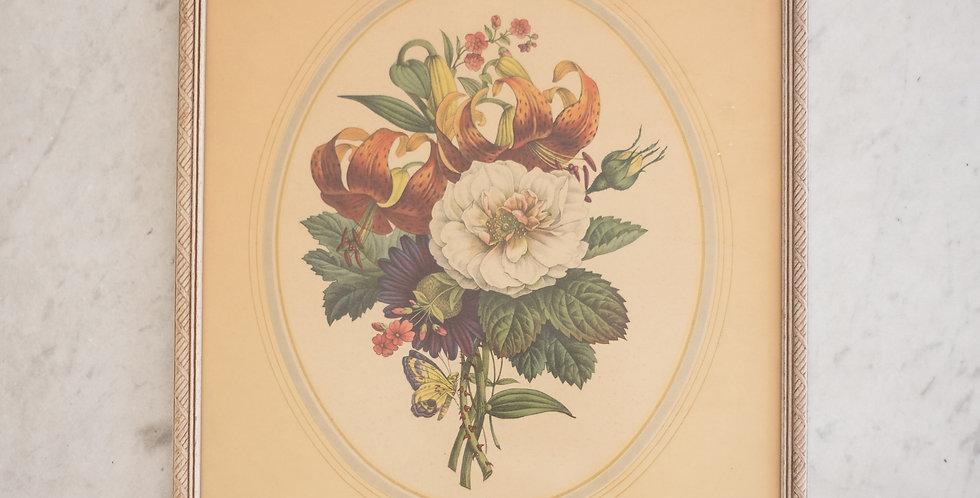 primitive floral print