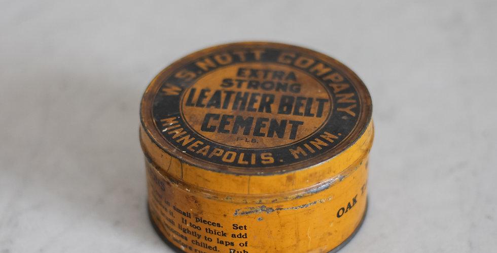 vintage graphic tin
