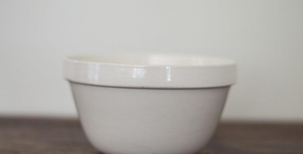 vintage ironstone mixing bowl