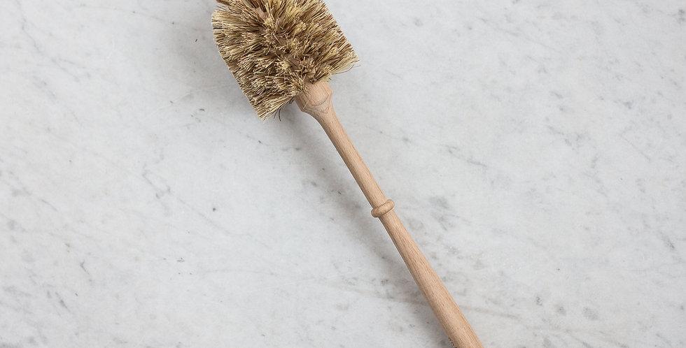 wooden toilet brush