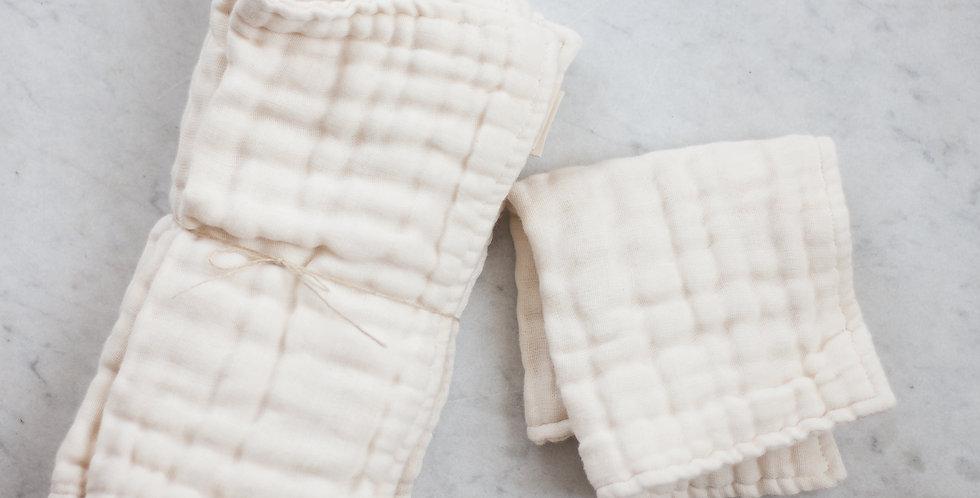 100% organic washcloth