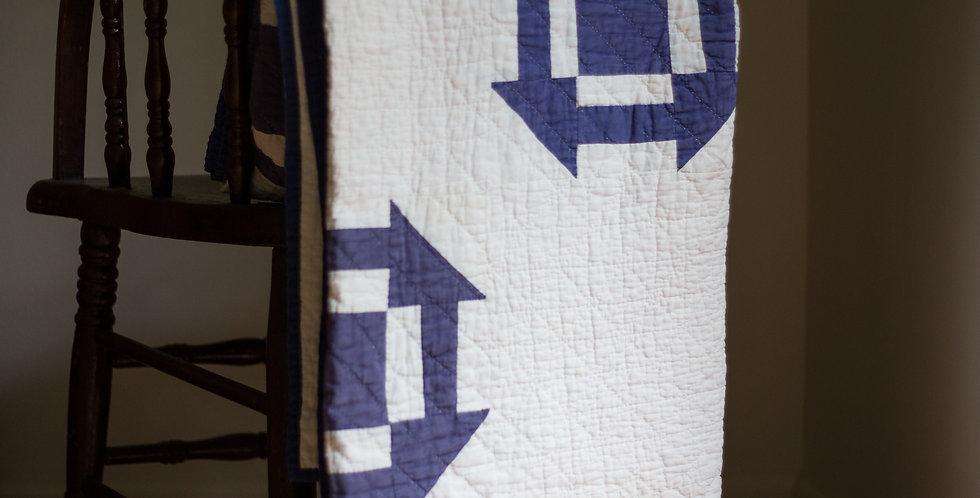 vintage hand stitched quilt