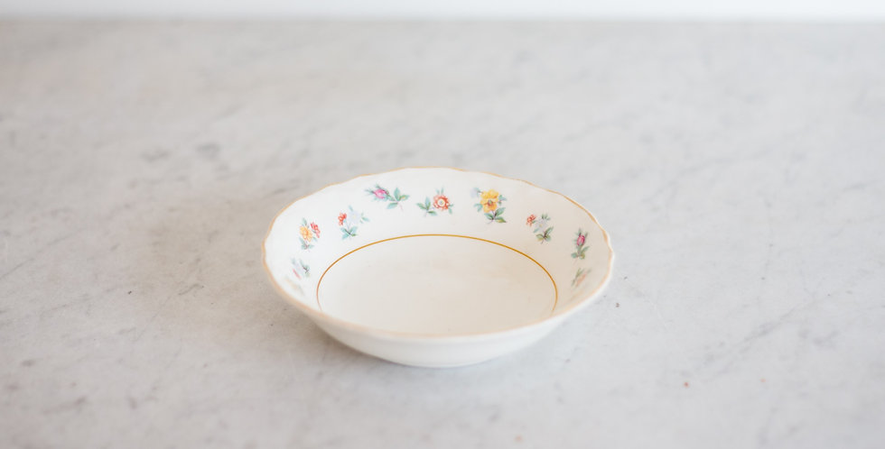 vintage candle dish