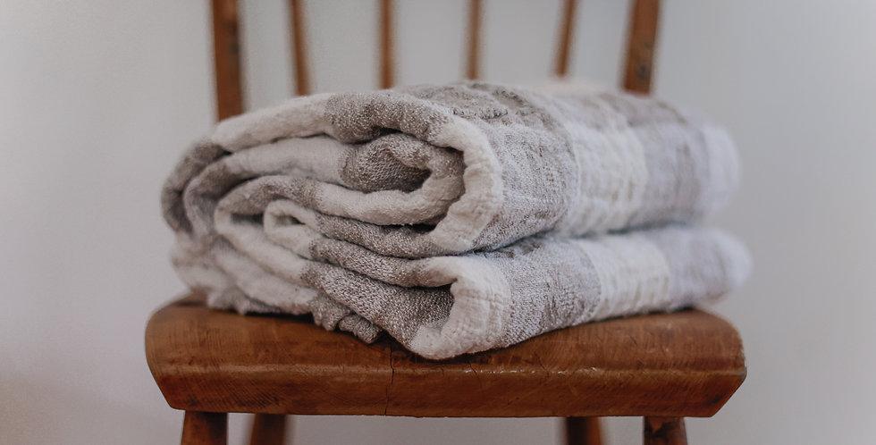 handcrafted European linen blanket