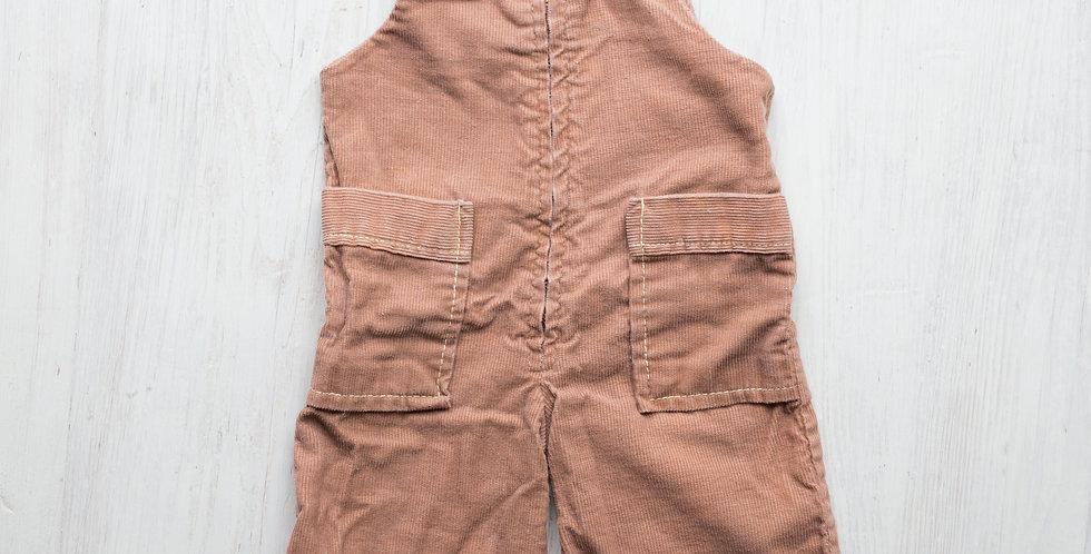 vintage corduroy overalls | 9 mo.
