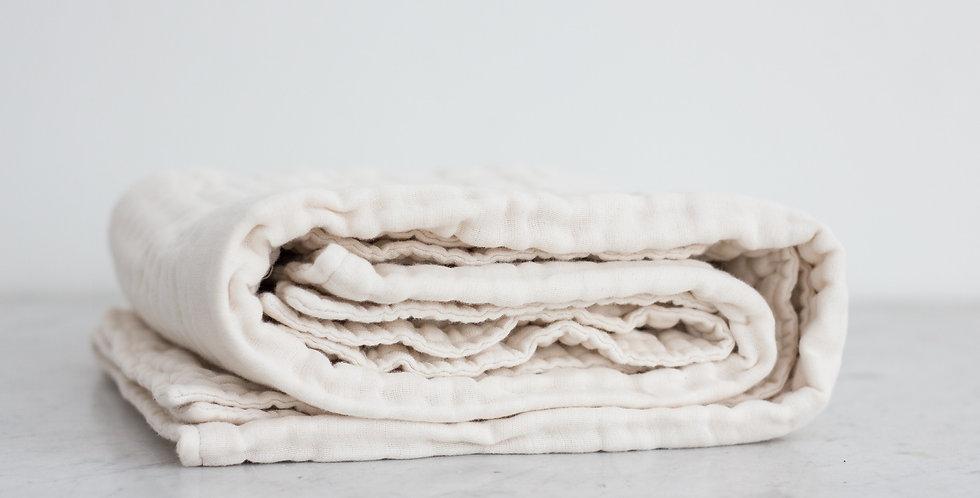 100% organic cotton gauze blanket