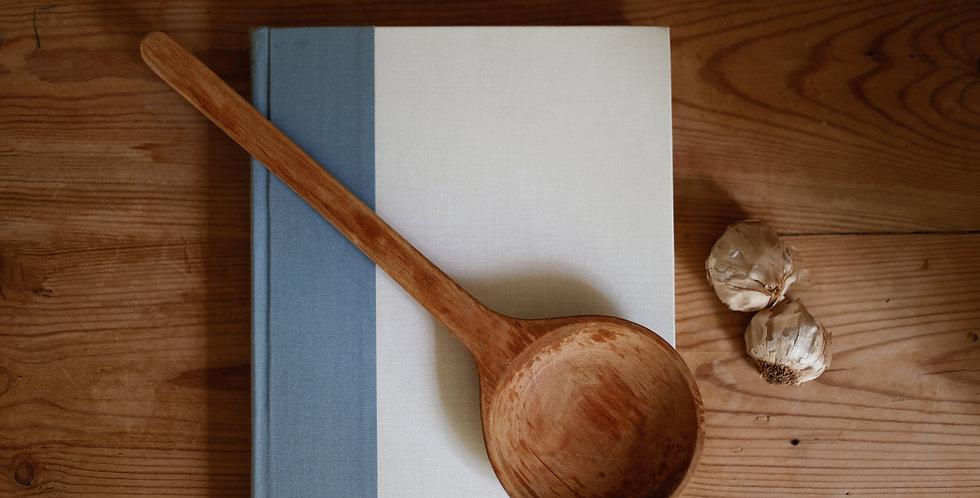 vintage wooden spoon