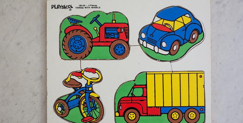 vintage playskool puzzle