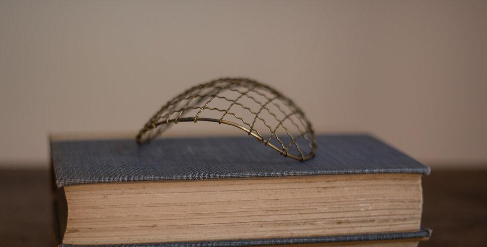 vintage wire flower frog