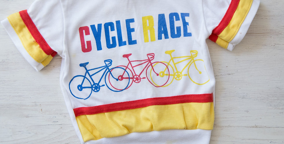 vintage cycle shirt | 3T